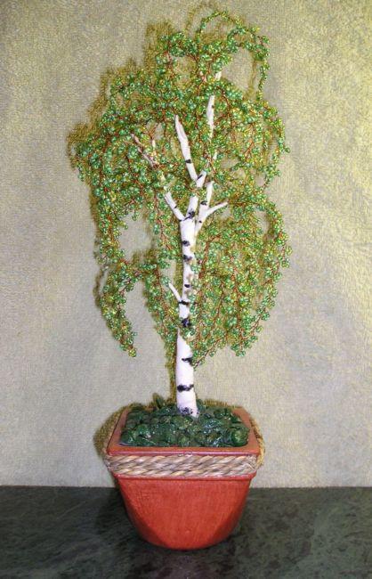 b Деревья из бисера- 55 шт. (для Ольги из Нарвы).  Олюшка посмотри что ты ещё не делала, может тебе что.