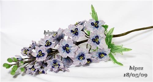 цветы из бисера - ЦВЕТЫ ИЗ БИСЕРА - поздравительные открытки, подарки и картинки - Маленький рай анимации.