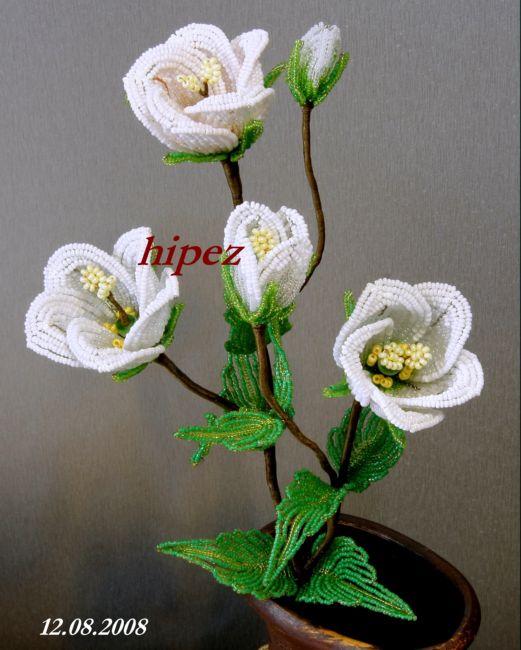 Плетения из бисера цветы