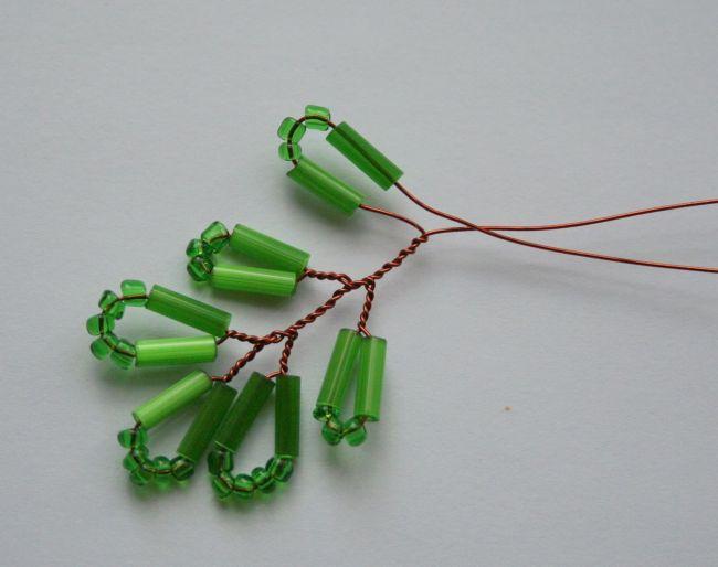 Мастер класс по созданию дерева акации из бисера.