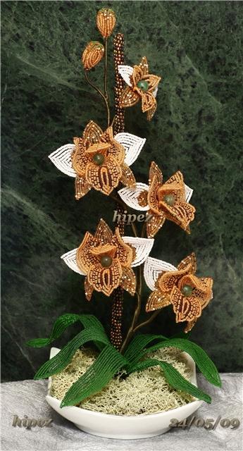 Цветы из бисера, 2часть